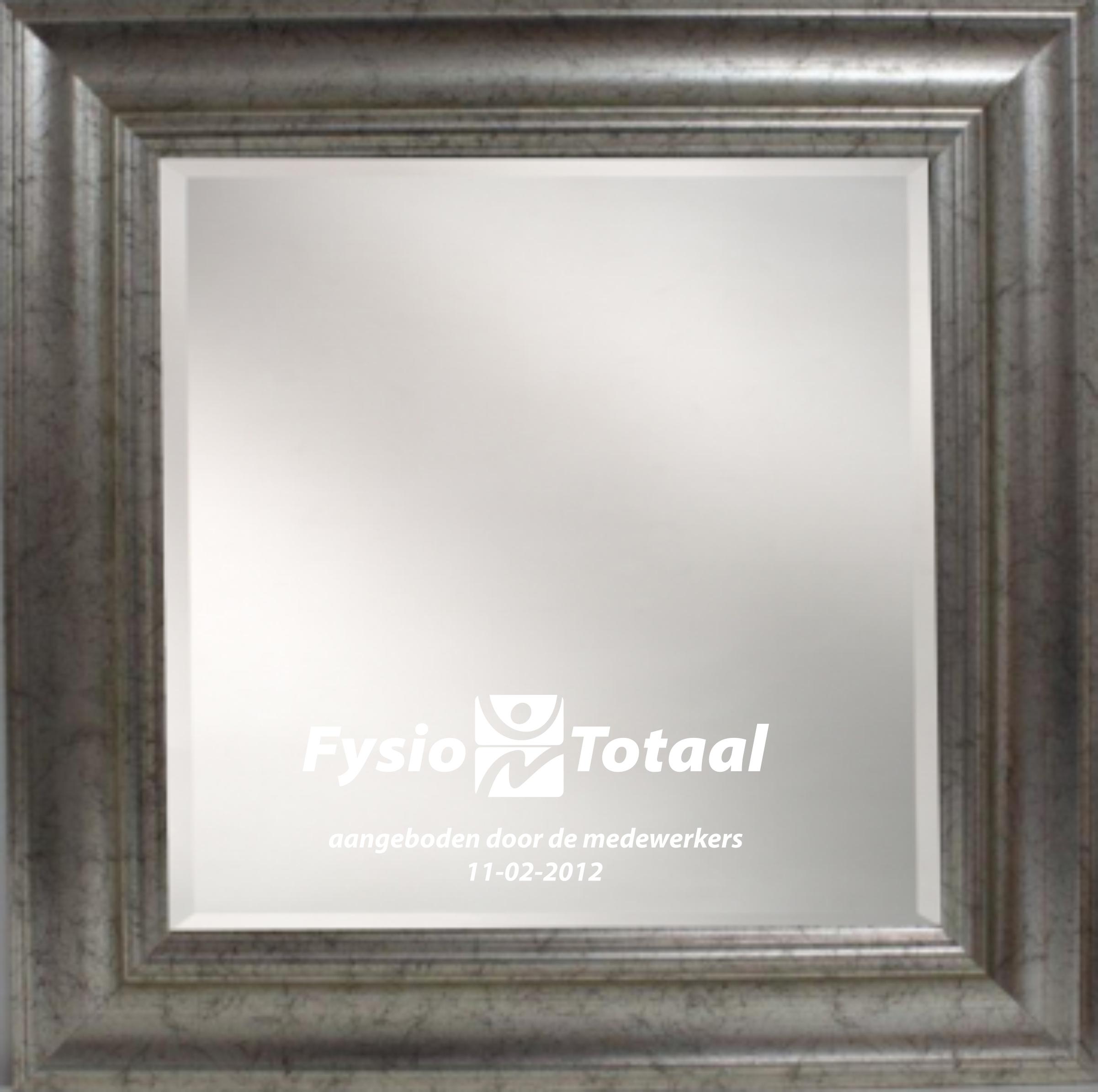 Spiegels en Spiegelklokken - Spiegel 40x40cm