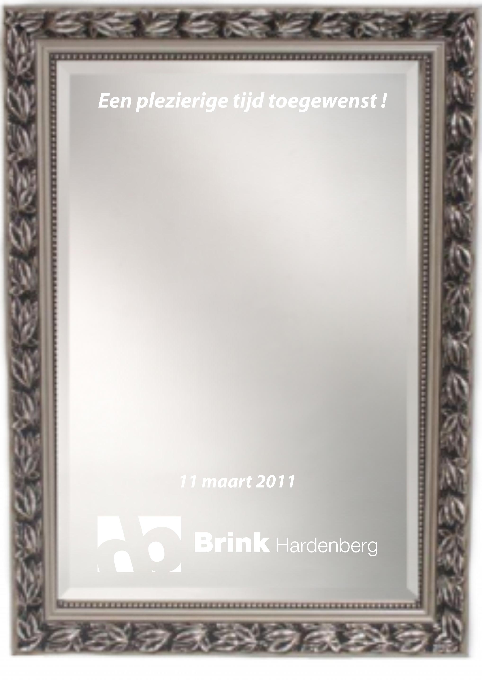 Spiegels en Spiegelklokken - Spiegel 50x70cm