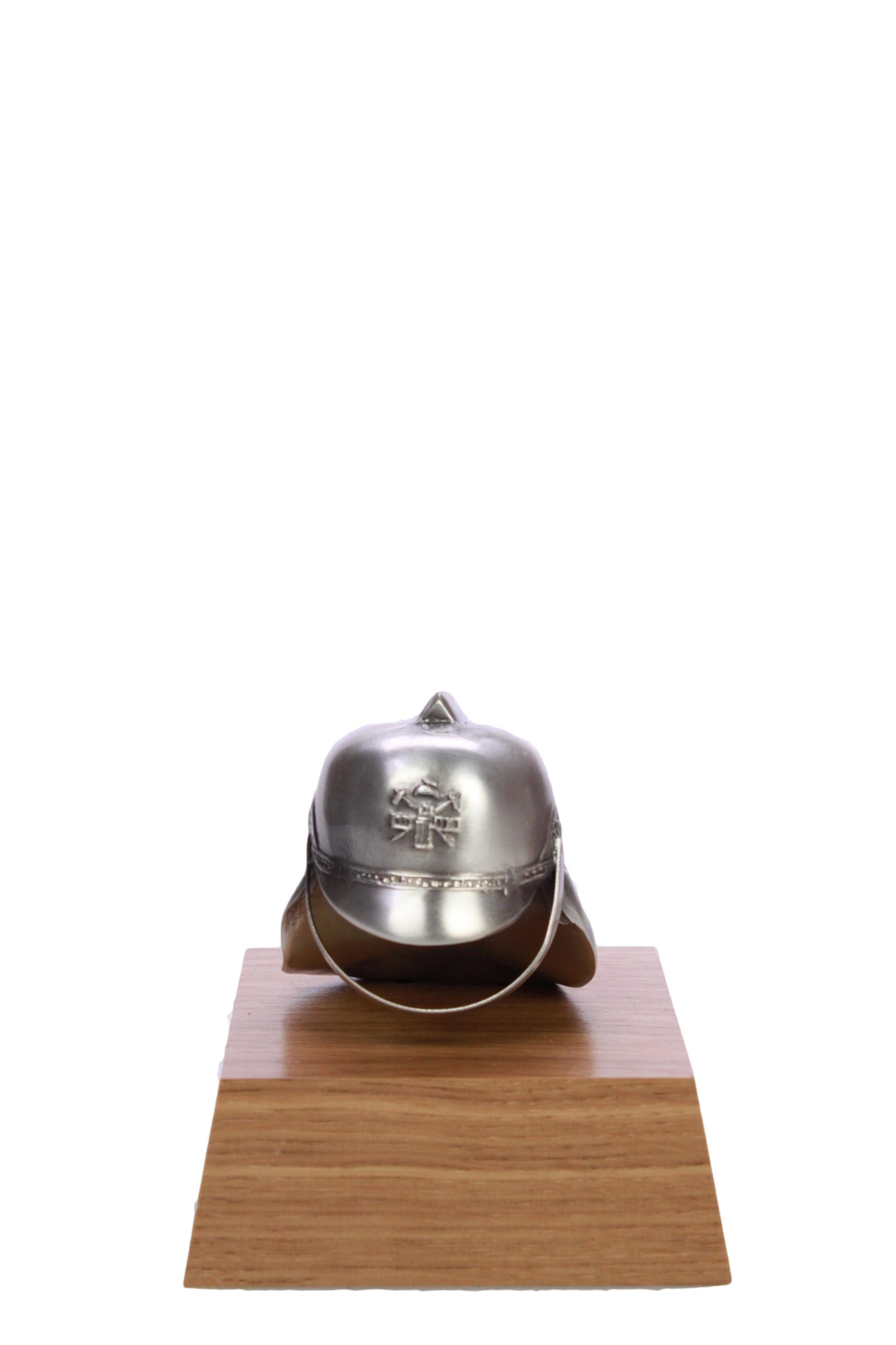 Brandweer - 43382 Helm klein Zilver 10cm