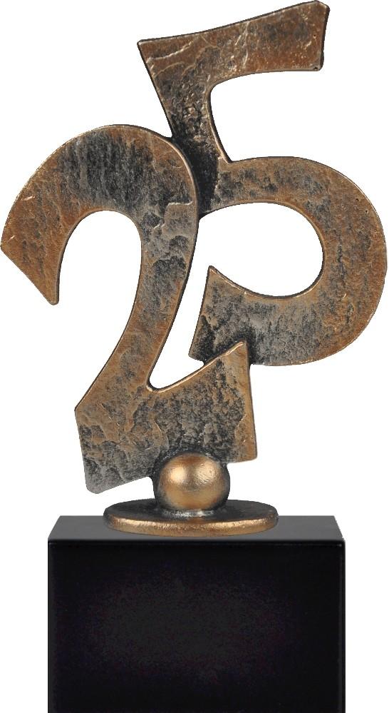 Award met cijfers 25 19cm WBEL 393B