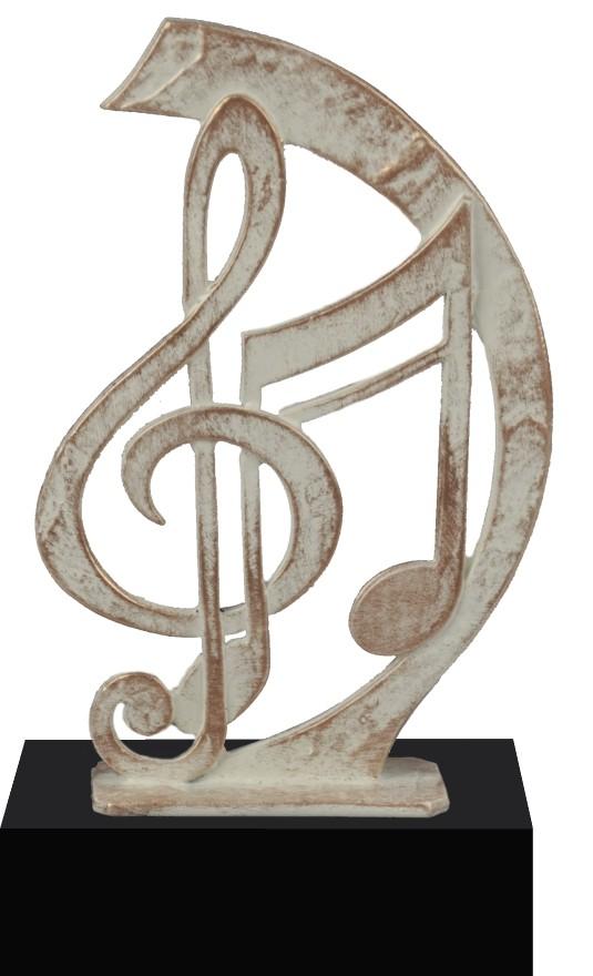 Award met muzieknoten 23.5cm WBEL 722B