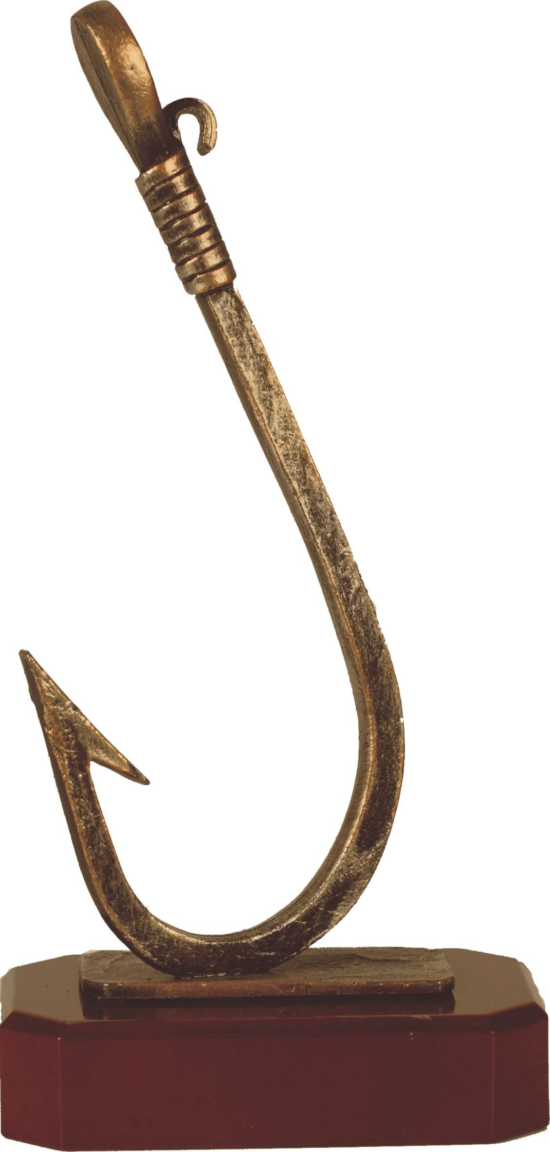 Luxe trofee vissershaak 28,5cm WBEL 177B