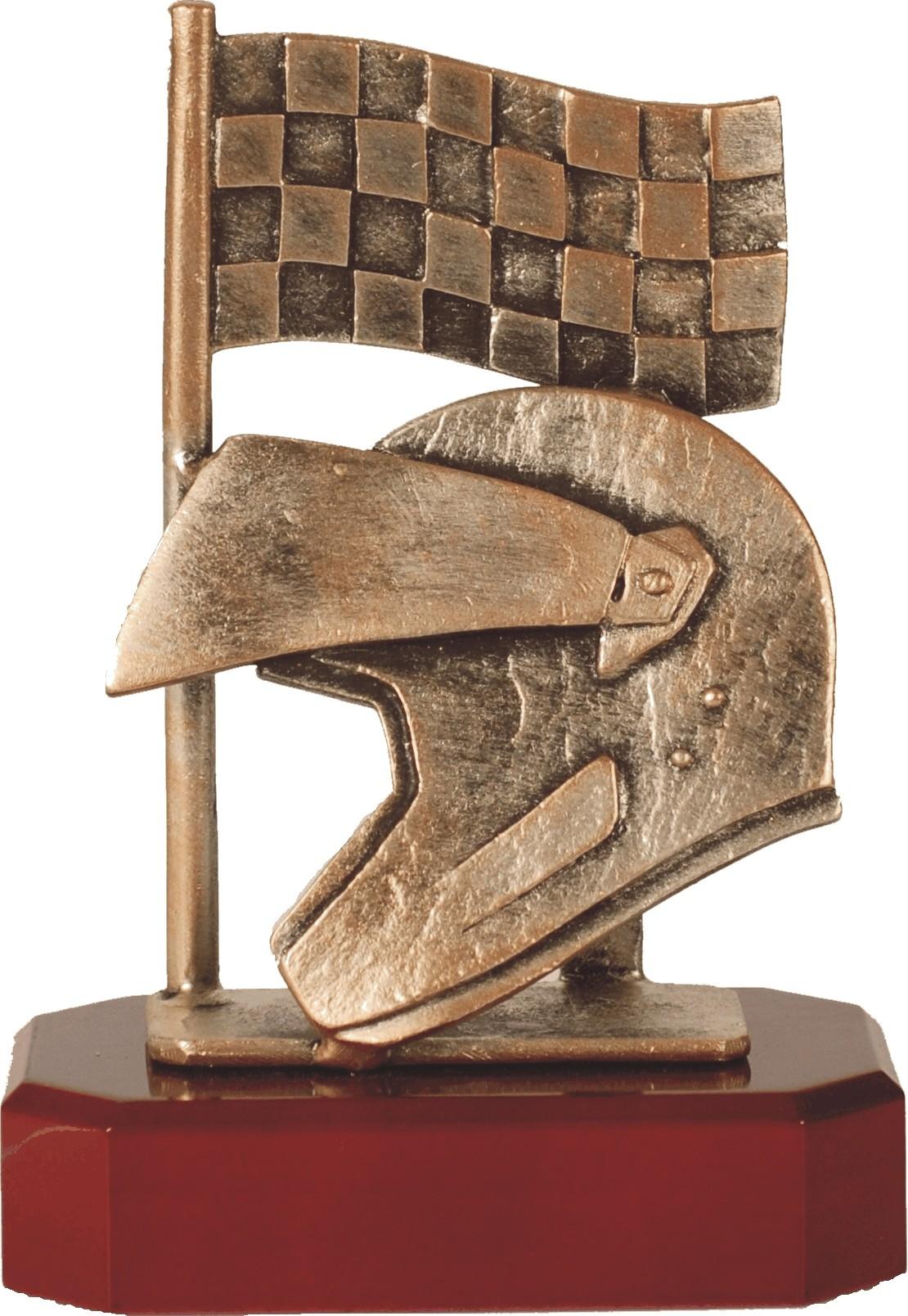 Luxe trofee ridder / finish / helm 19.5cm WBEL 203B