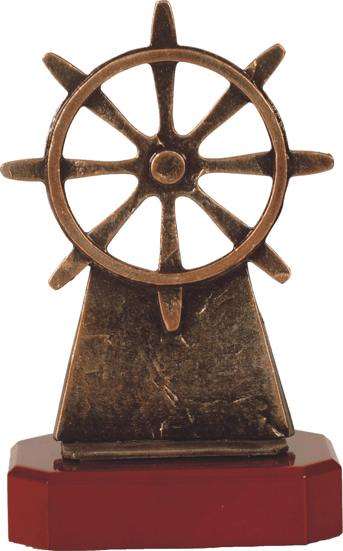 Luxe trofee molen / watermolen 22.5cm WBEL 204B