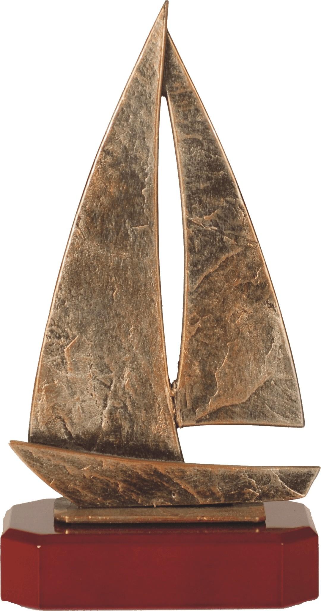 Luxe trofee zeilboot 25.5cm WBEL 214B