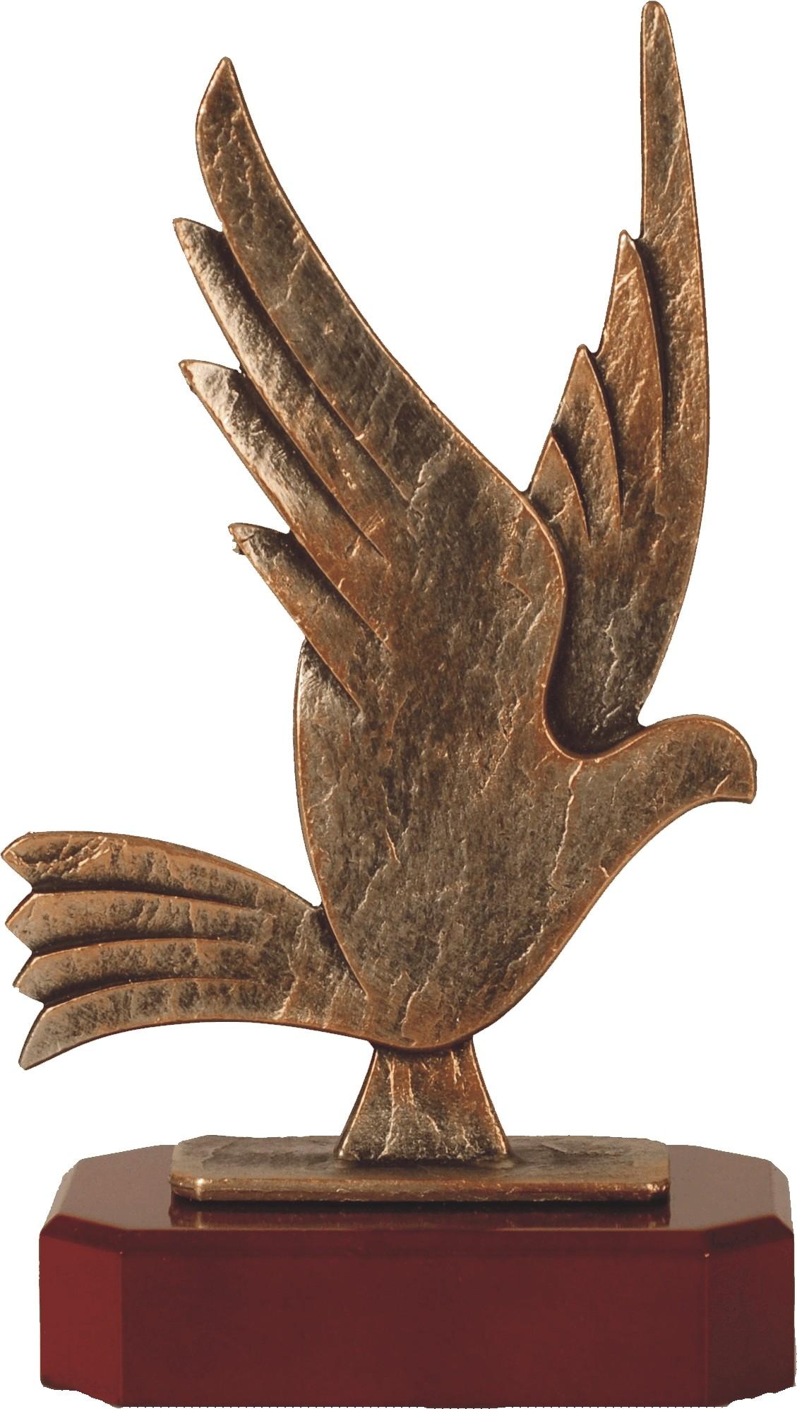 Luxe trofee duif 26,5cm WBEL 259B