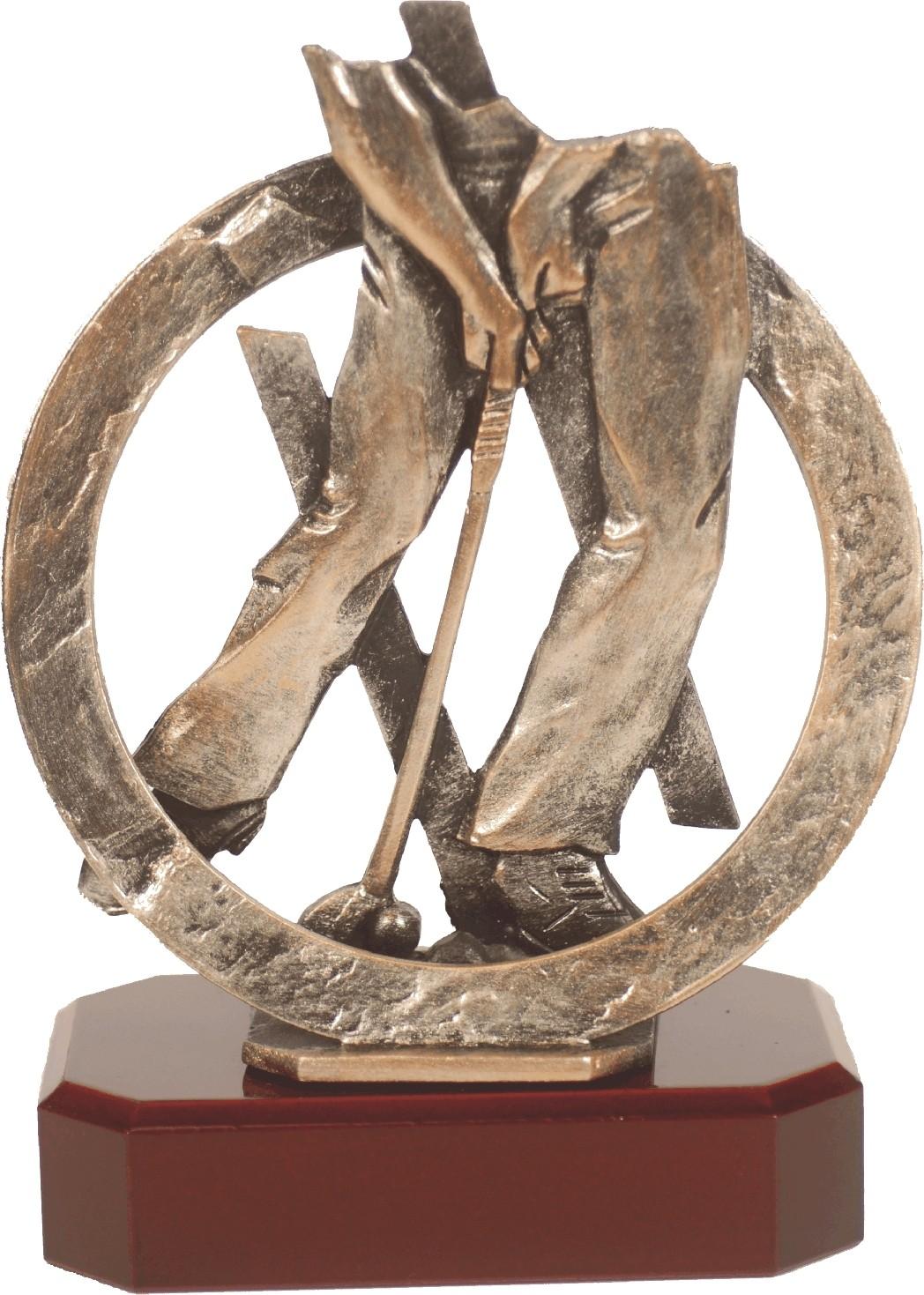 Luxe trofee golfer 21cmWBEL 286B