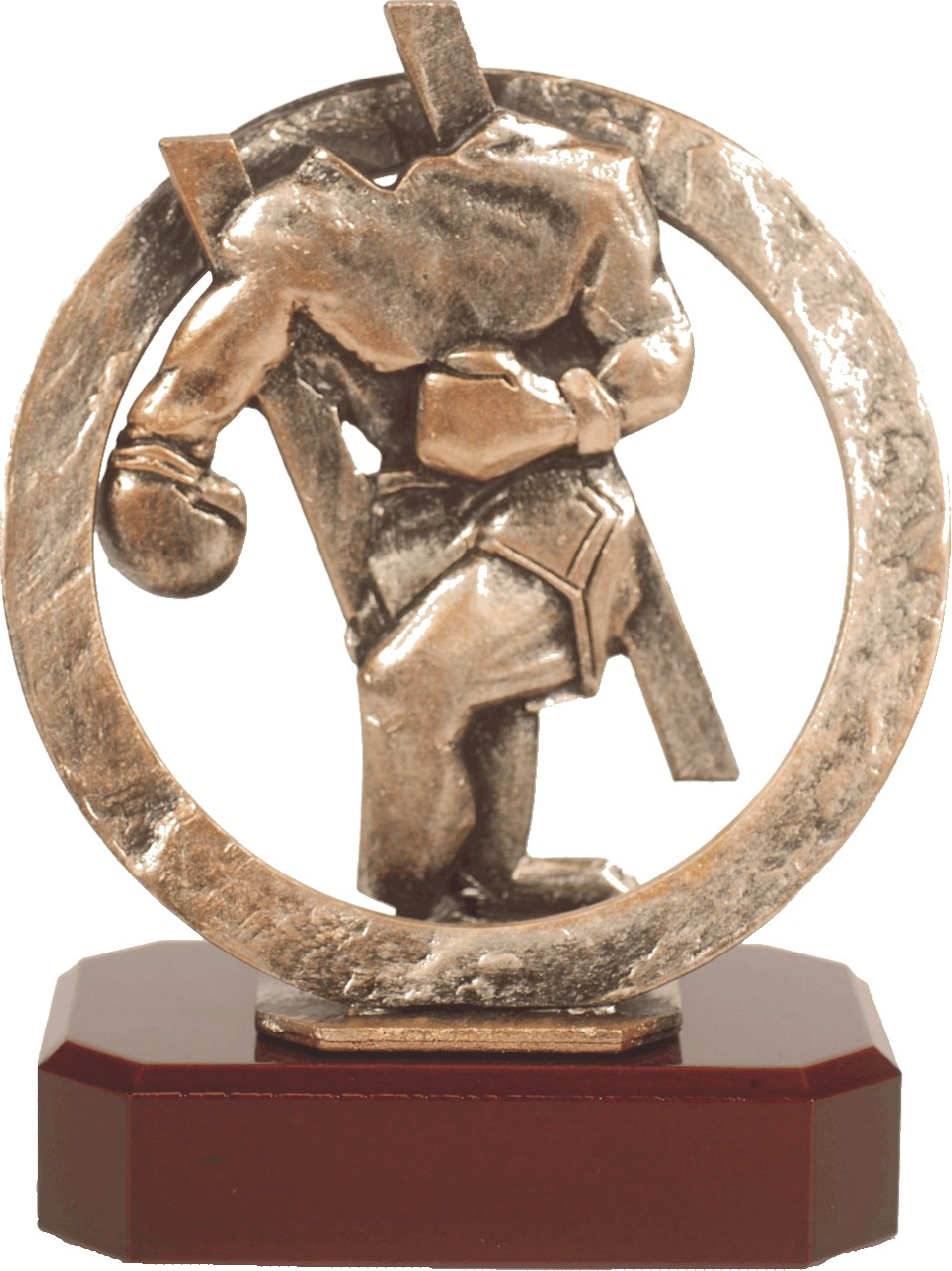 Luxe trofee kickbokser / bokser 20cm WBEL 293B