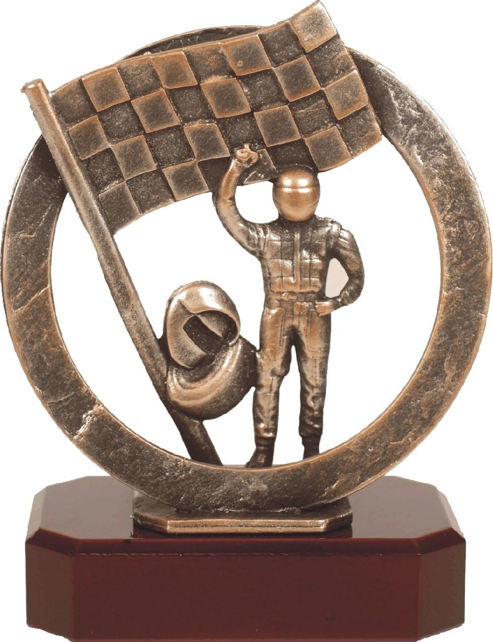 Luxe trofee schermen / finish 19,5cm WBEL 301B
