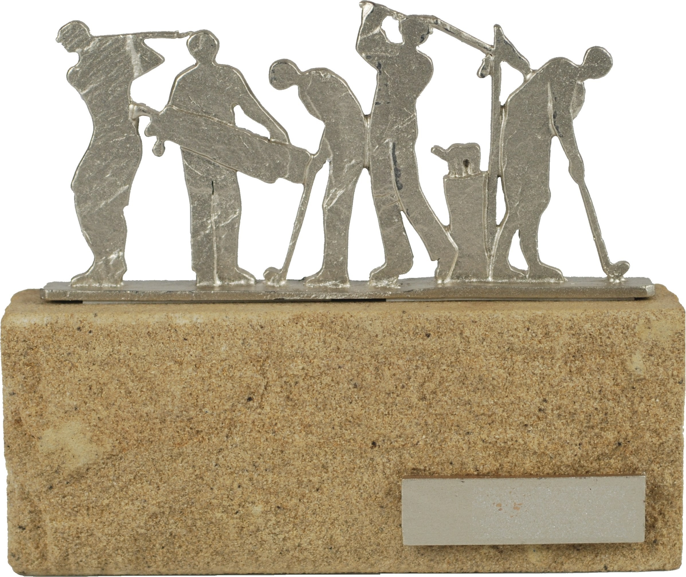 Luxe trofee golfers / golfen 17cm WBEL 604