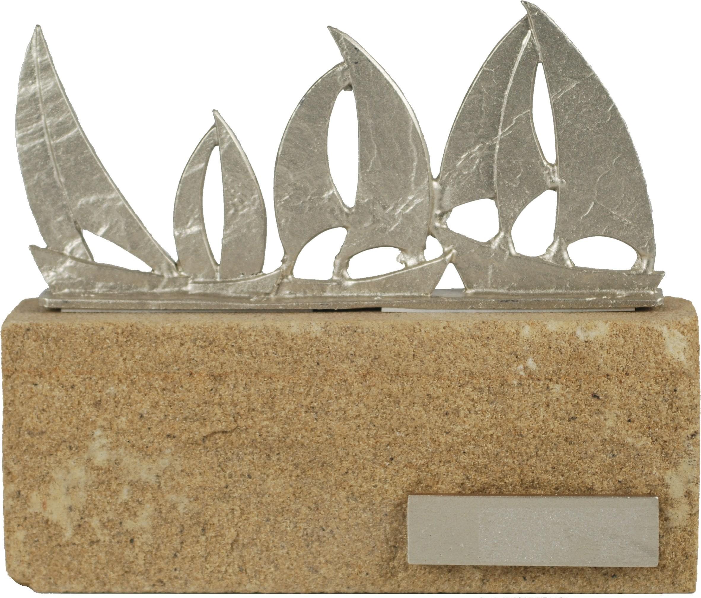 Luxe trofee zeilboten 16,5cm WBEL 605
