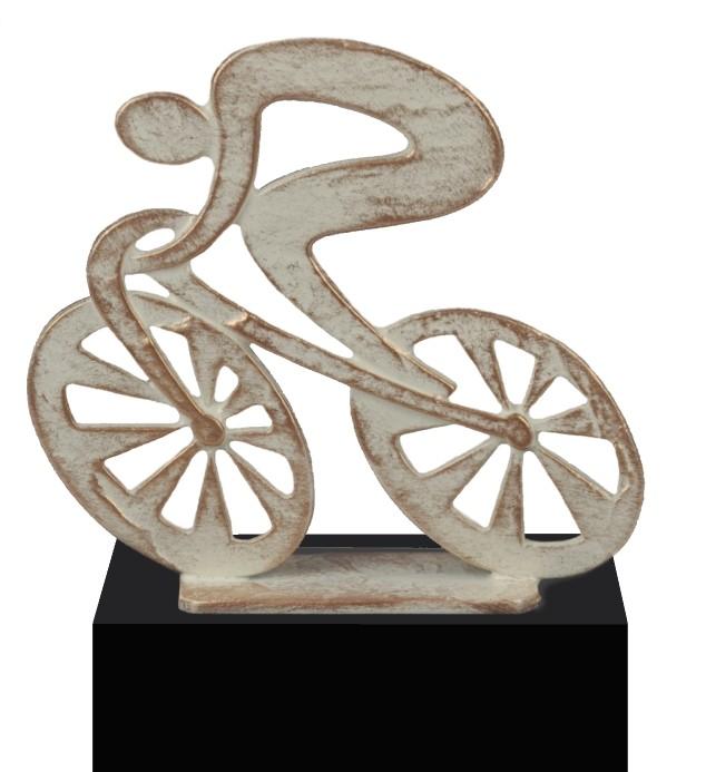 Luxe trofee fietser / wielrenner 18cm WBEL 747B