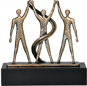 Award drie mensen en winnaar 19.5cm WTRL454B