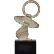 Geboorte Geschenk Award met speen 18.5cm WBEL 751B