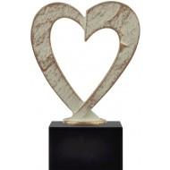 Award met hart 18cm WBEL 752B