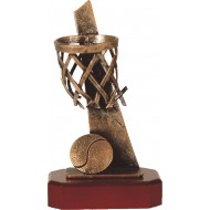 Luxe trofee basketbal / basketballer 24,5cm WBEL 192B