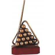 Luxe trofee biljart / poolen / snooker 25,5cm WBEL 195B