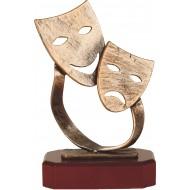 Luxe trofee Maskers WBEL 198B 23cm