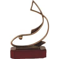 Luxe trofee vis / visser 24cm WBEL 201B