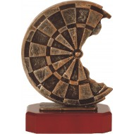 Luxe trofee dartbord 22.5cm WBEL 205B