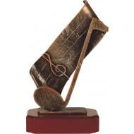 Luxe trofee muzieknoot 24.5cm WBEL 210B