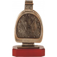 Luxe trofee horloge / klok 22.5cm WBEL 211B