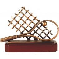 Luxe trofee tennis 18,5cm WBEL 221B