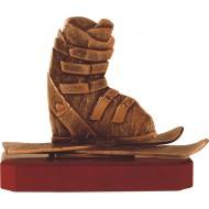 Luxe trofee skieen / skies / skieschoen 19cm WBEL 226B