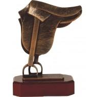 Luxe trofee zadel 22,5cm WBEL 233B