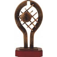 Luxe trofee tennisbal en net 28cm WBEL 241B