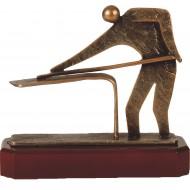Luxe trofee biljart / snooker / poolen 19cm WBEL 243B