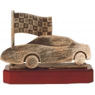 Luxe trofee raceauto / racen / finish 17cm WBEL 246B