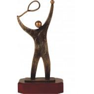Luxe trofee tenniser / tennis 27,5cm WBEL 249B