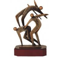 Luxe trofee atletiek 25cm WBEL 263B