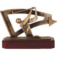 Luxe trofee golfer 17,5cm WBEL 266B
