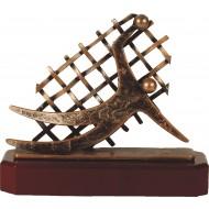 Luxe trofee keeper / voetbal keeper 19,5cm WBEL 267B
