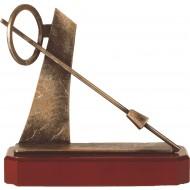Luxe trofee schermen / zwaard 21cm WBEL 278B