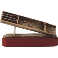 Luxe trofee sjoelbak 14cm WBEL 281B
