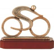 Luxe trofee fietser / fiets 17,5cm WBEL 284B
