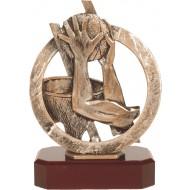 Luxe trofee Basketbal 21cm WBEL 296B