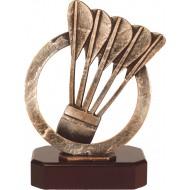 Luxe trofee dartpijlen / darten 22cm WBEL 360B