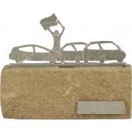 Luxe trofee autorace / racen 16cm WBEL 603