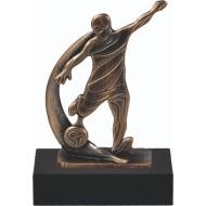 Luxe trofee voetbal WBEL 783B 19.5cm