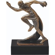 Luxe trofee hardlopen WBEL 786B 19.5cm