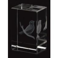 Glazen Trofee Golf Birdie CR100 30x20x15mm