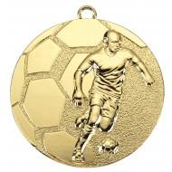Medaille met voetballer WD61 50mm