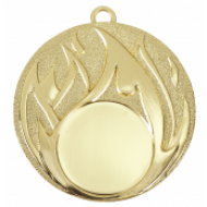 Medaille met vlammen WM49 mm