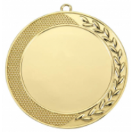 Medaille met halve krans WM58 70mm