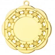 Medaille met sterretjes / sterren WM45 50mm