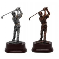 WSA-15 Golfer Zilver/Brons 18cm
